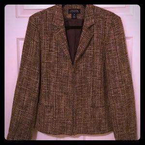 Jones New York Signature Tweed Jacket/Blazer